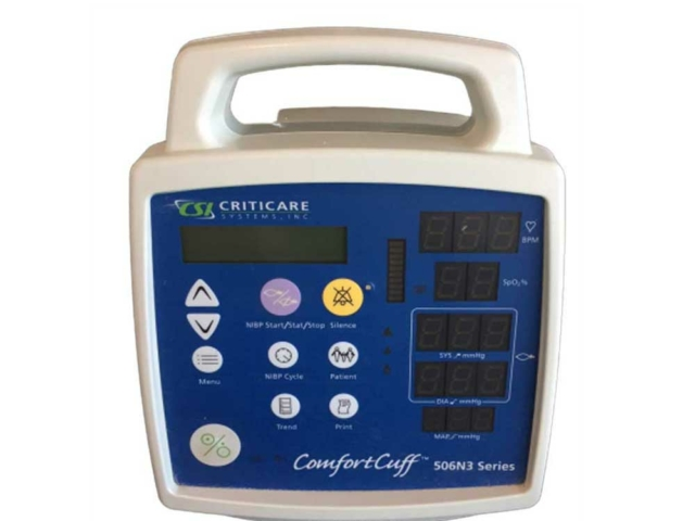 Criticare Comfort Cuff 506N3 Series Patient Monitor (Reconditionné)