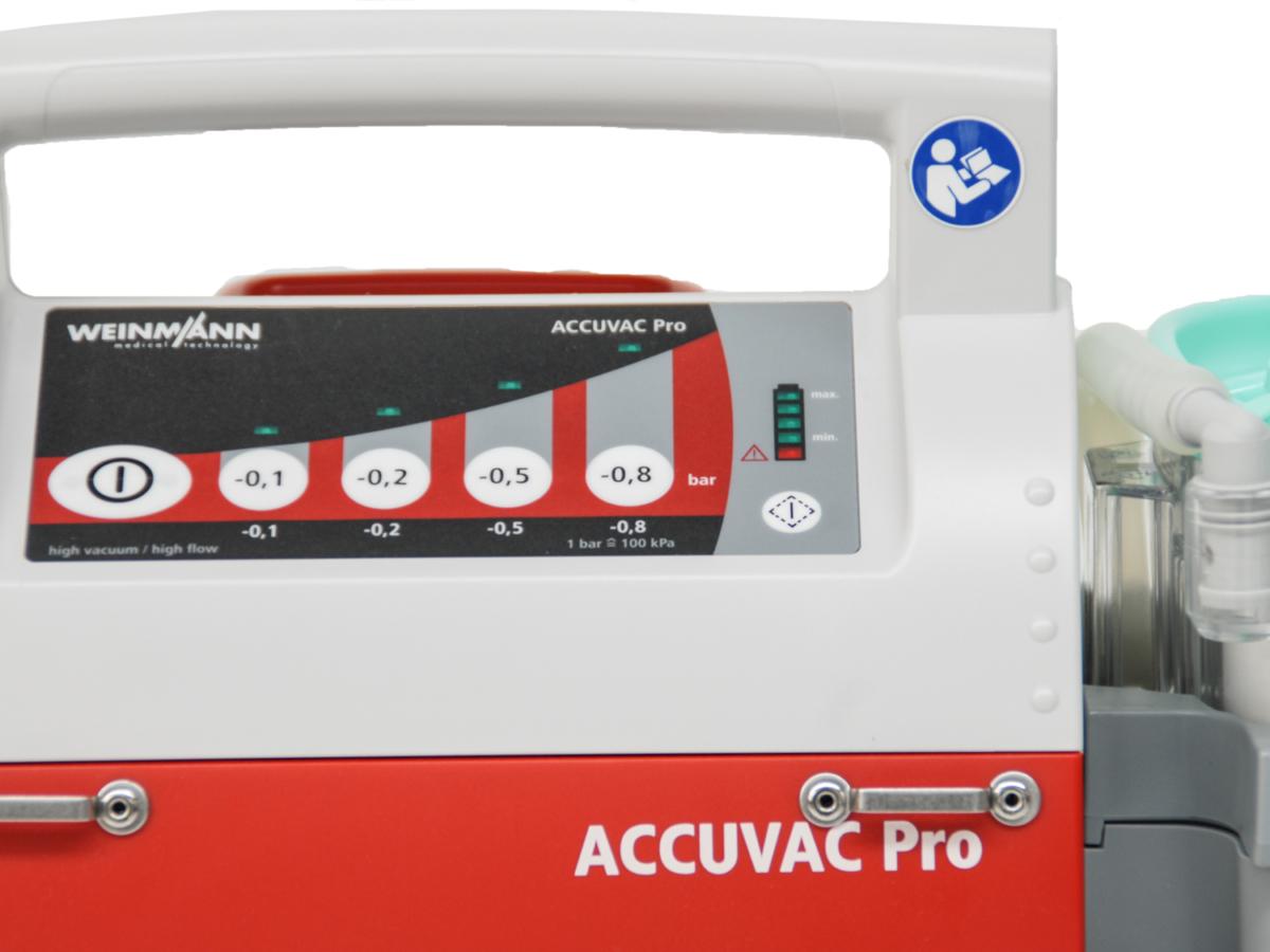 Weinmann Accuvac Pro - Suction Pump (Buttons)