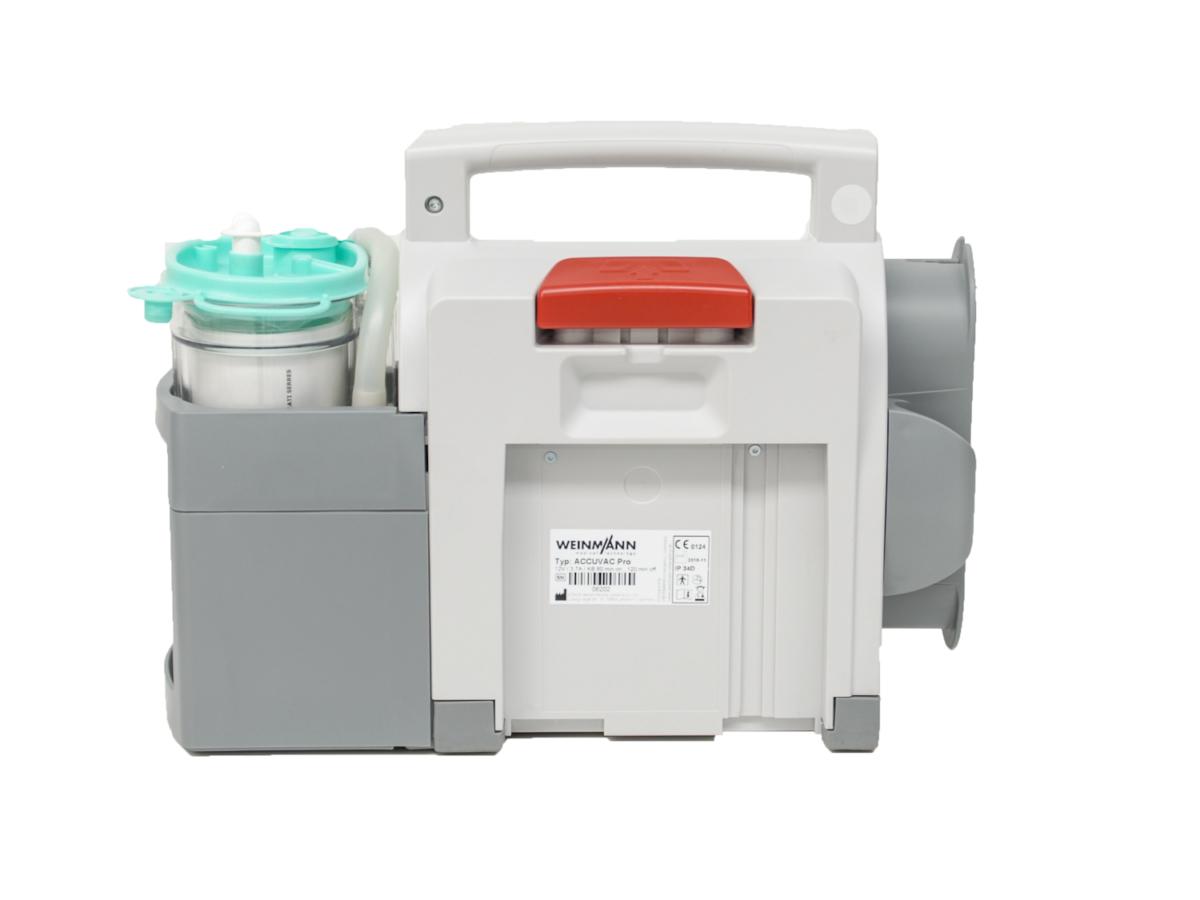 Weinmann Accuvac Pro - Suction Pump (Back view)