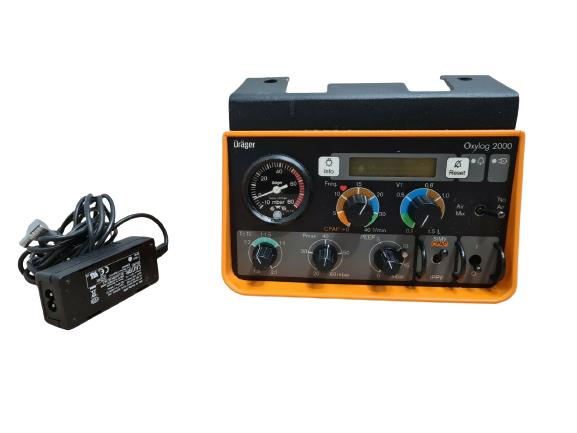 DRAGER Oxylog 2000 Ventilator (2)