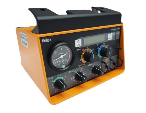 DRAGER Oxylog 2000 Ventilator (5)