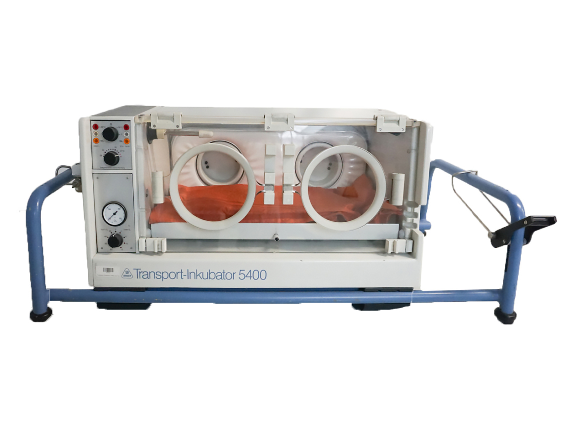 DRAGER Transport Incubator 5400 - Front View