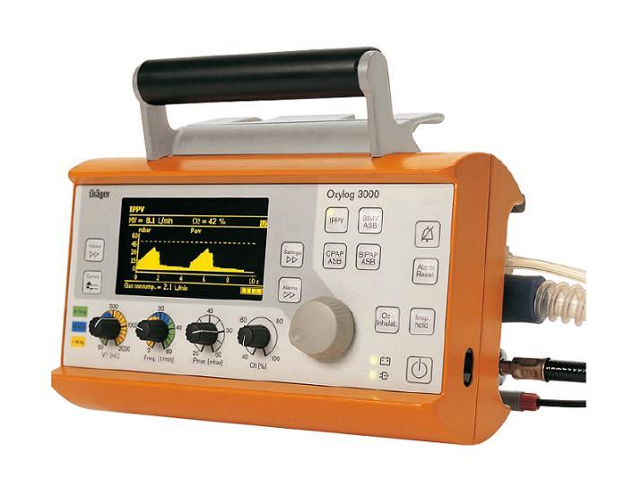 Drager Oxylog Ventilator 3000