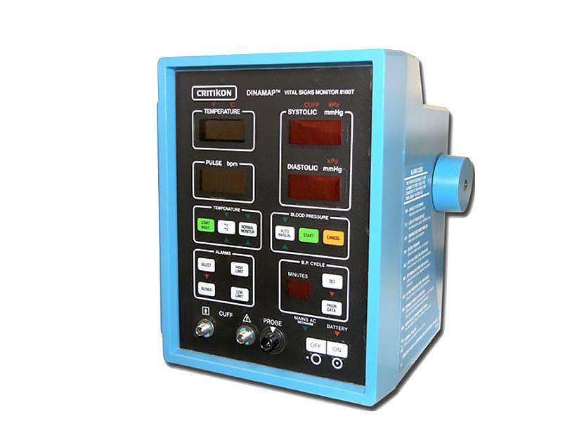 GE Critikon Dinamap 8100T Vital Sign Patient Monitor - Front 2