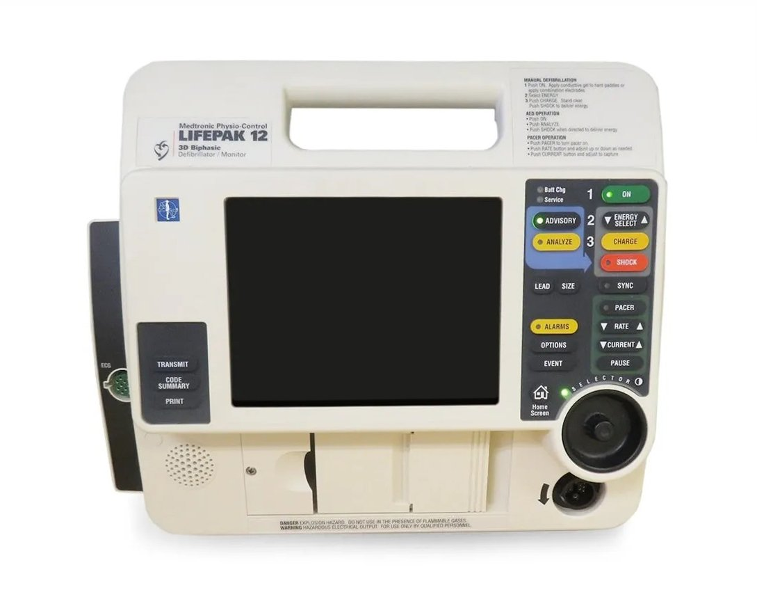 LIFEPAK 12 Monitor Defibrillator (9)