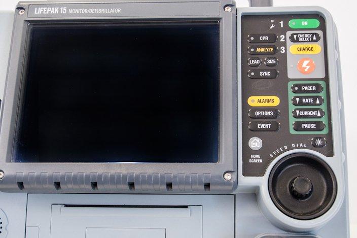 LIFEPAK 15 Monitor Defibrillator - Buttons