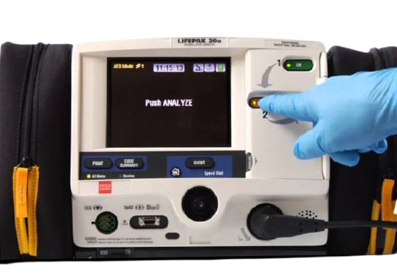 LIFEPAK 20-20e Defibrillator (10)