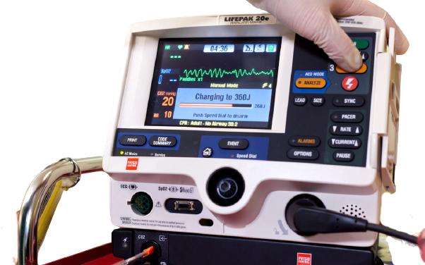 LIFEPAK 20-20e Defibrillator (7)