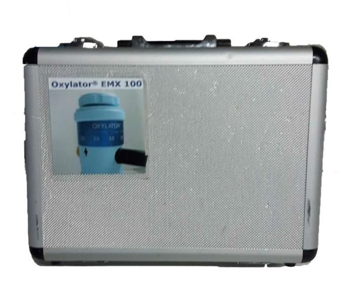 OXYLATOR EMX 100 Responsive Ventilation - Suitcase