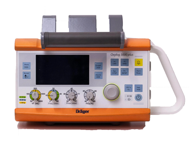 Drager Oxylog 3000 plus (Recondionné)