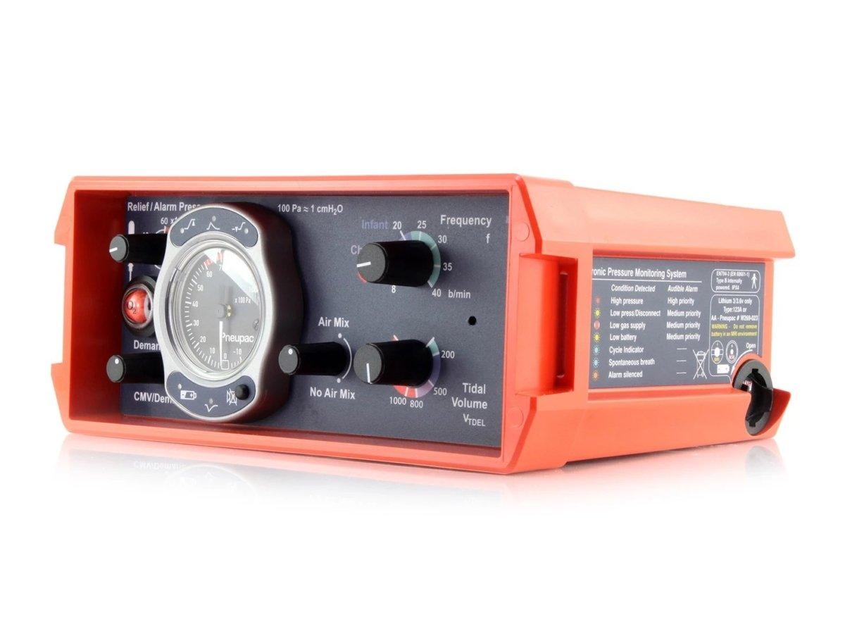 PNEUPAC Parapac 200D - Ventilator (10)