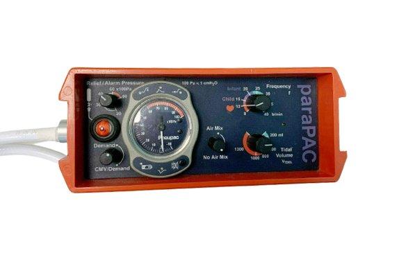 PNEUPAC Parapac 200D - Ventilator (Buttons)