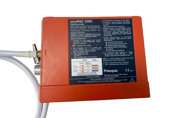 PNEUPAC Parapac 200D - Ventilator (14)