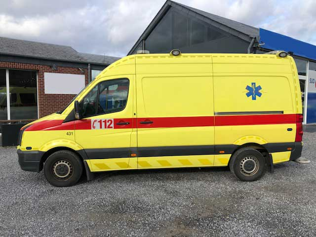 20165 Volkswagen CRAFTER Ambulance Belgian registration – 2011