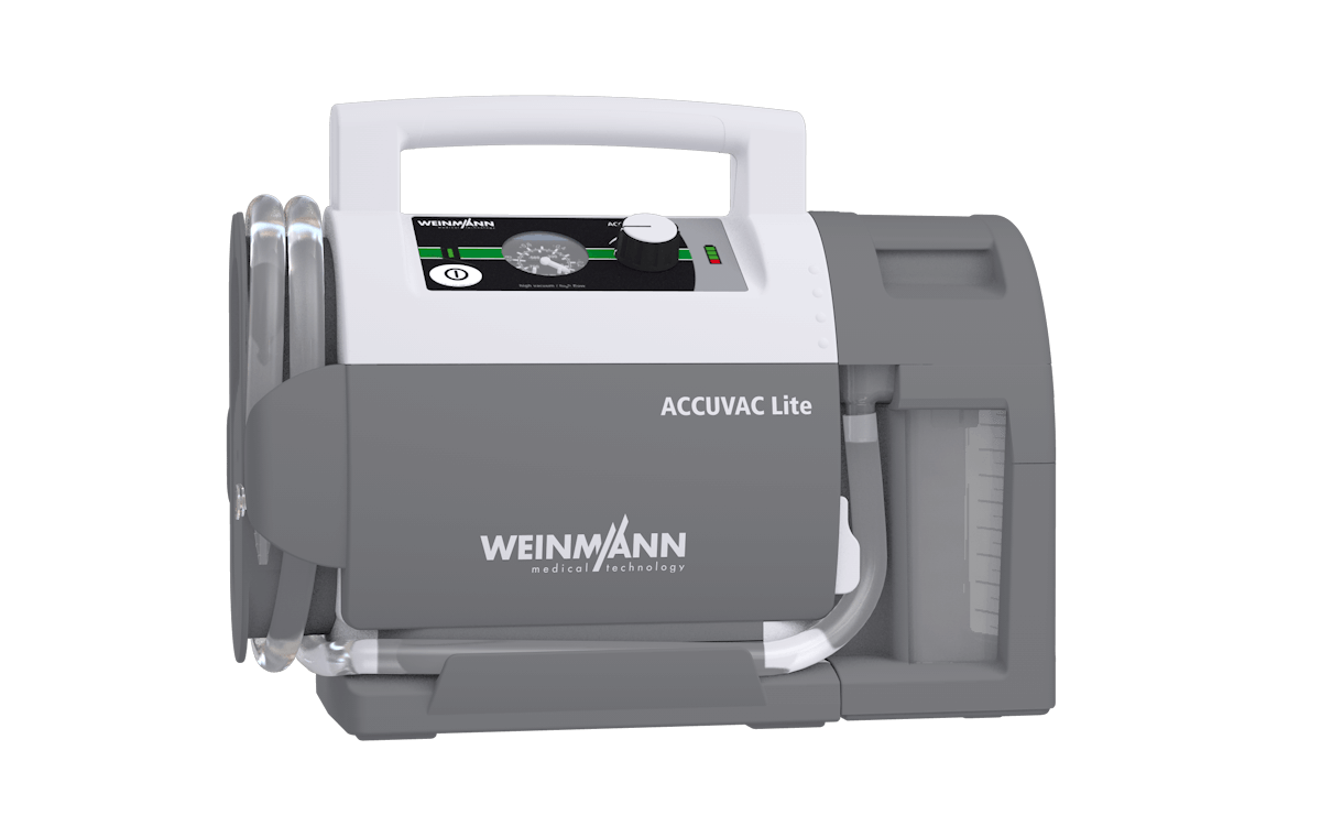 Weinmann Accuvac Lite - Suction Device (Front view)