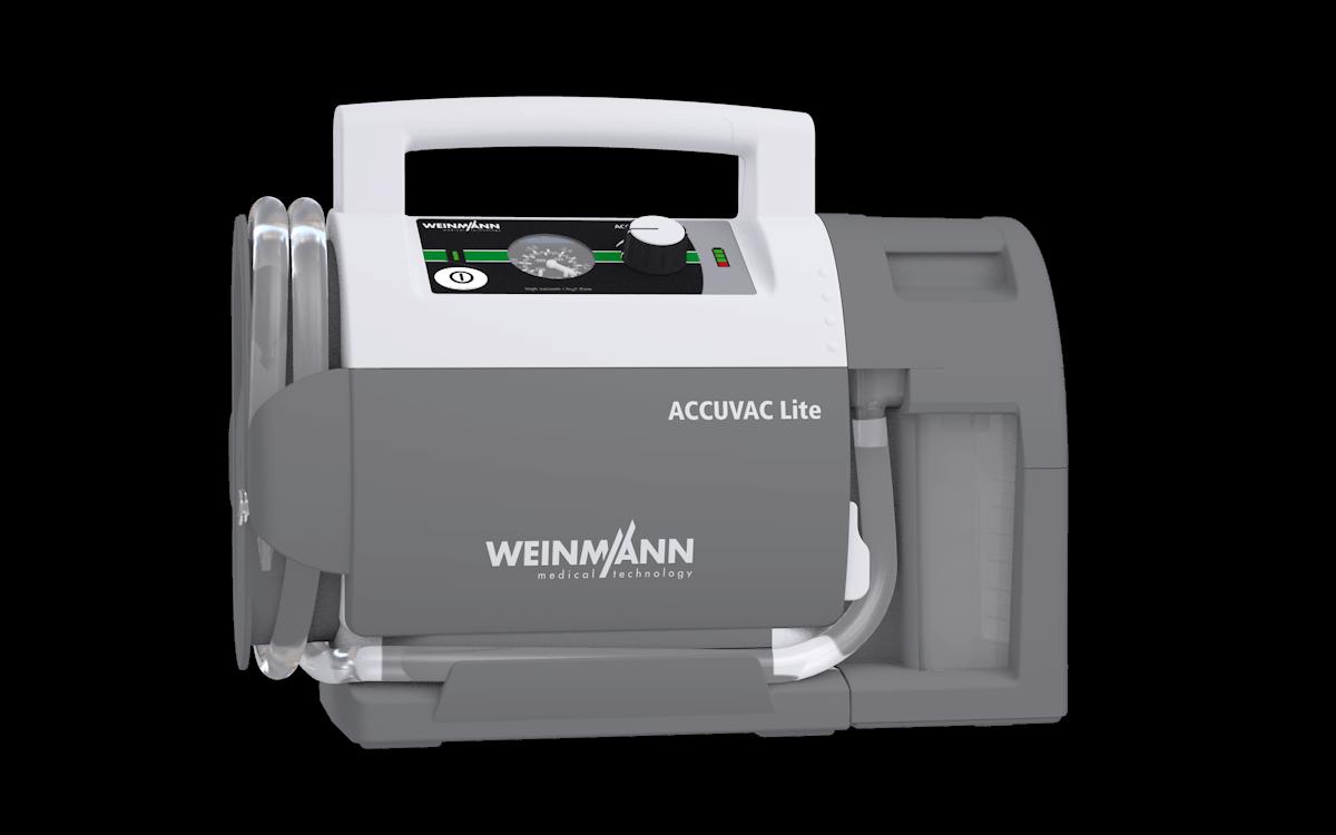 Weinmann Accuvac Lite - Suction Device (Front view)