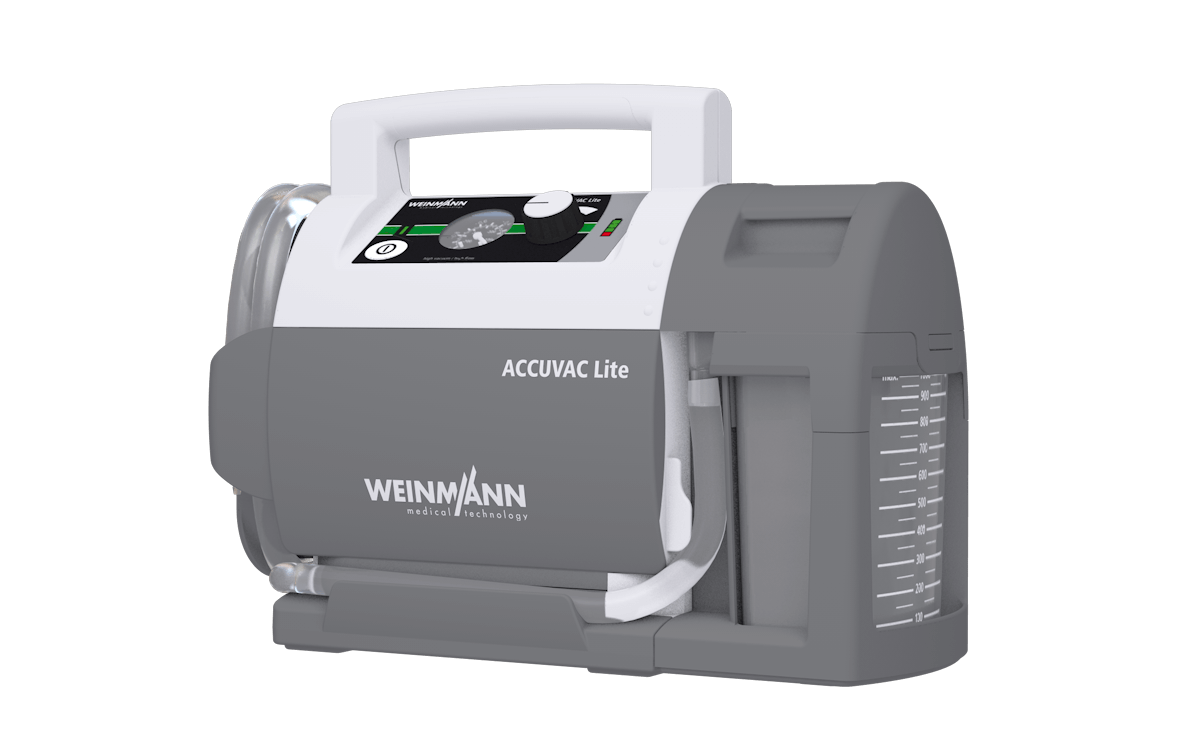 Weinmann Accuvac Lite - Suction Device (6)