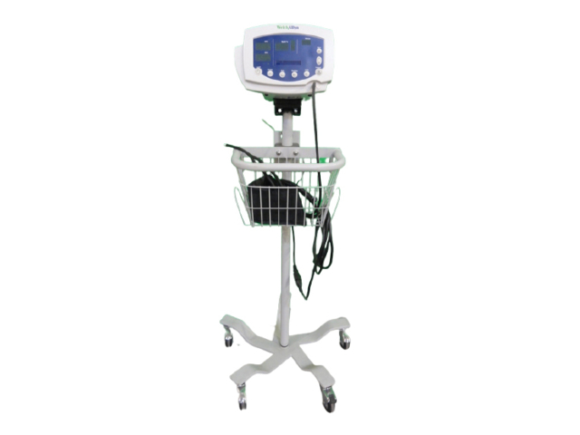 Welch Allyn 53N00 Patient Monitor + Stand, BP Hose & SPO2 Finger Sensor (Refurbished)