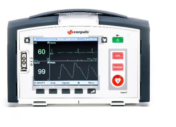 CORPULS 1 Monitor Defibrillator – 2017 (Refurbished)