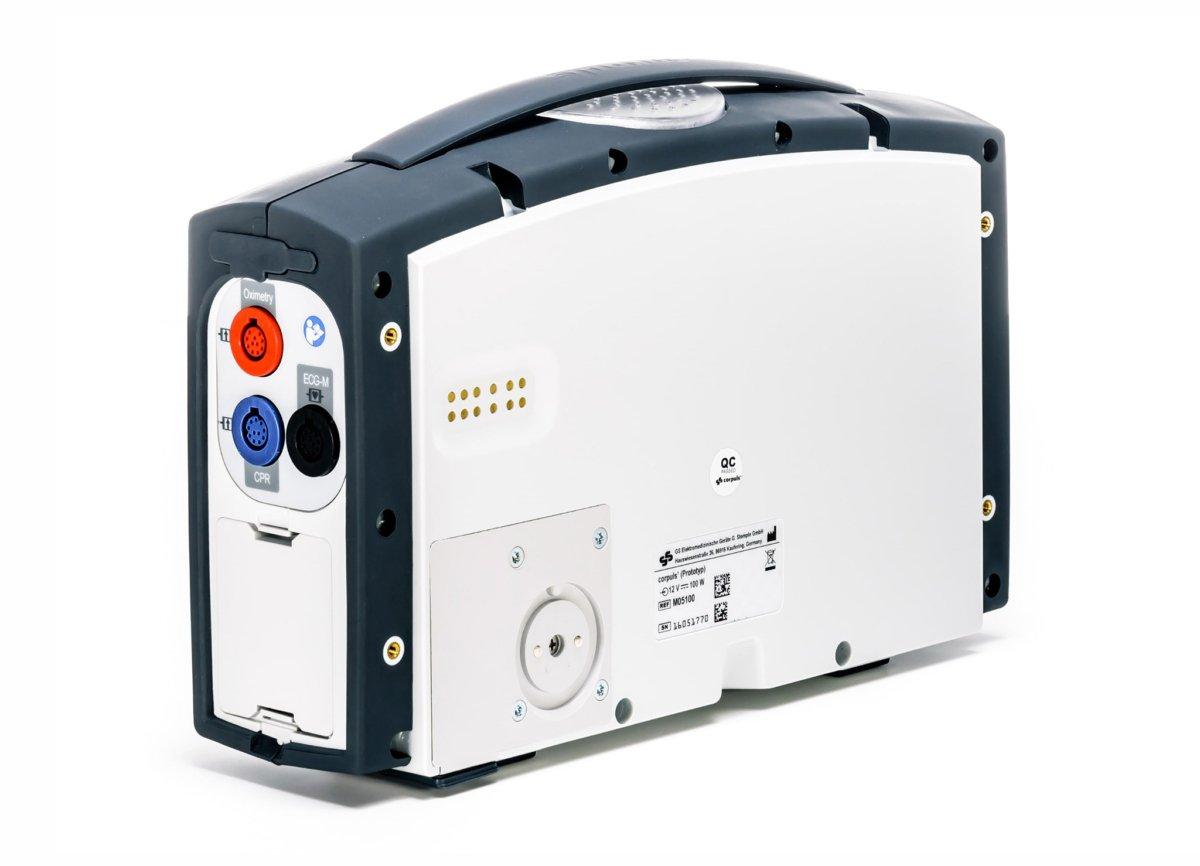 Corpuls 1 Monitor Defibrillator - Back View 1