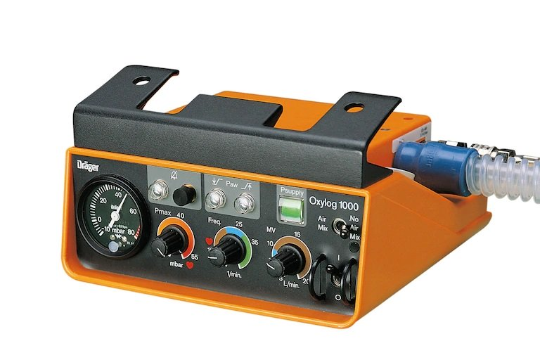 DRAGER Oxylog 1000 Ventilator (11)