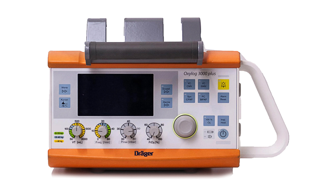 DRAGER Oxylog 3000 Plus Ventilator (2)