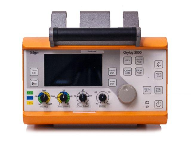 Ventilateur DRAGER Oxylog 3000 (Reconditionné)