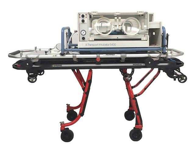 DRÄGER Transportinkubator Typ 5400 auf Krankentrage Ferno Mondial ST (Refurbished)