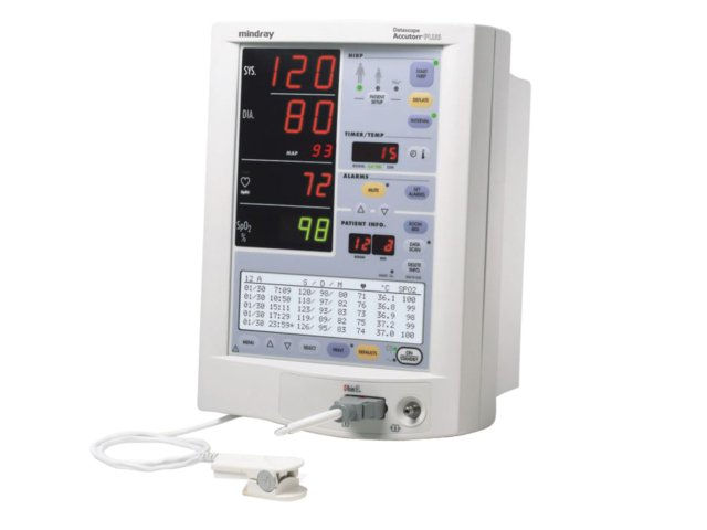 Datascope Accutorr Plus Patient Monitor + Stand (Refurbished)