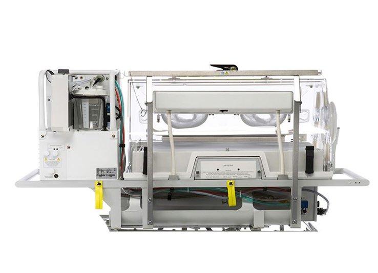 Dräger Isolette TI500 Globe-Trotter Incubator - Back View