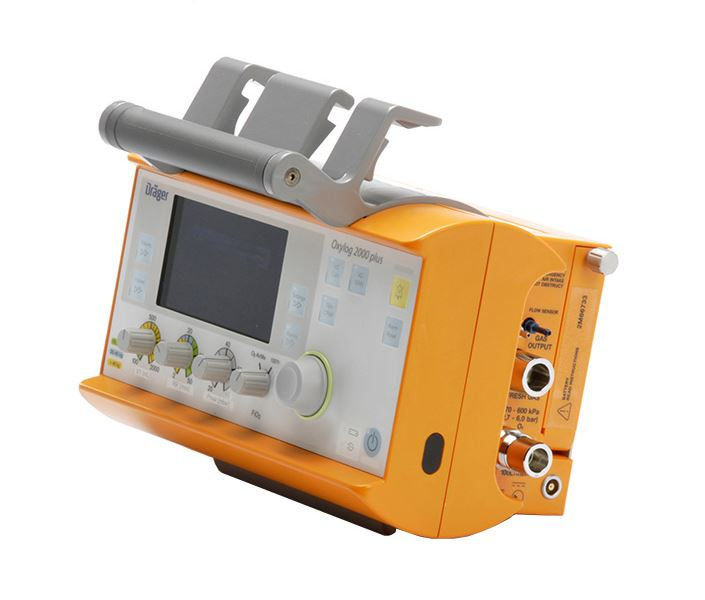 Drager Oxylog 2000 Plus Ventilator (4)