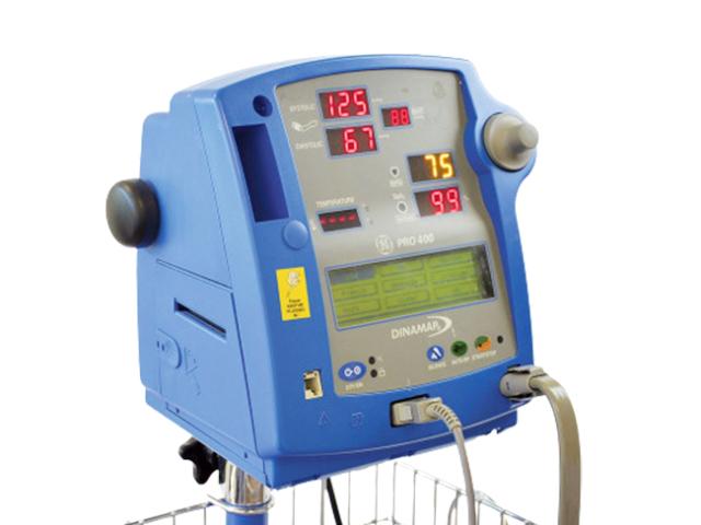GE Critikon Dinamap Pro 400 – Vital Signs Monitor + Stand (Refurbished)