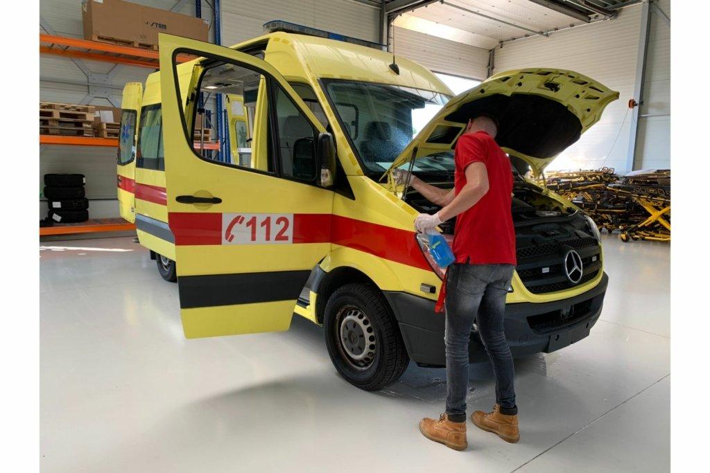 ambulance refurbished