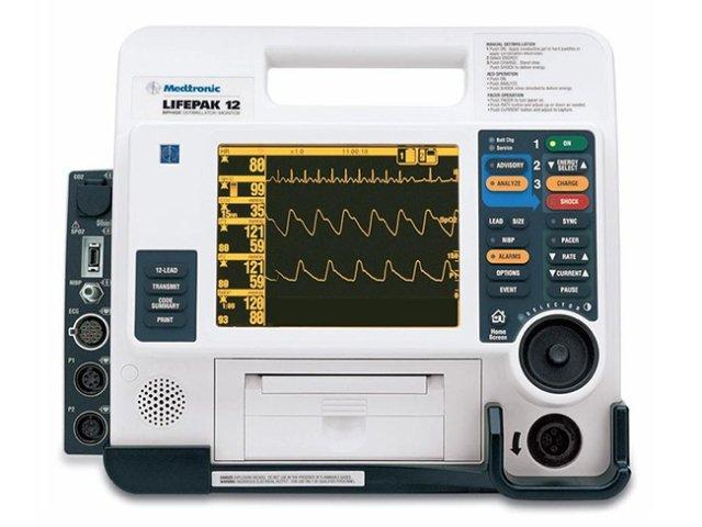 LIFEPAK 12 Monitor Defibrillator (Refurbished) | Biphasic