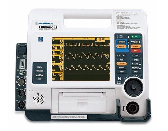 LIFEPAK 12 Monitor Defibrillator (13)