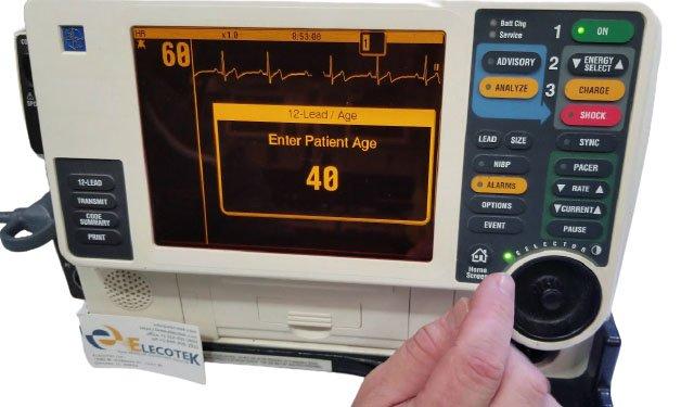 LIFEPAK 12 Monitor Defibrillator - Screen 2