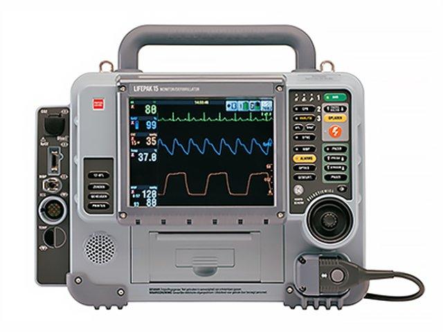 LIFEPAK 15 Biphasic Monitor Defibrillator (Refurbished)