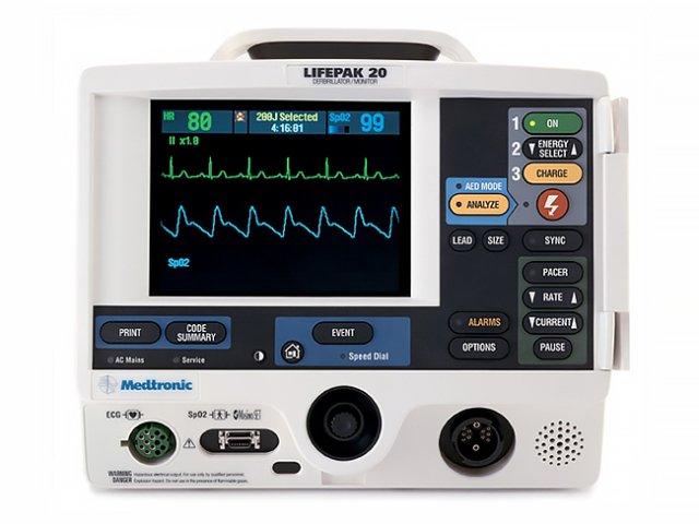 LIFEPAK 20/20e Defibrillator (Refurbished)
