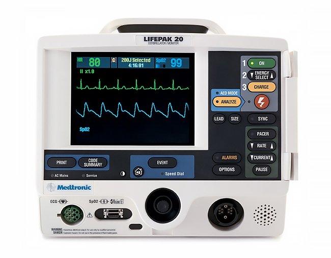 LIFEPAK 20-20e Defibrillator (11)C