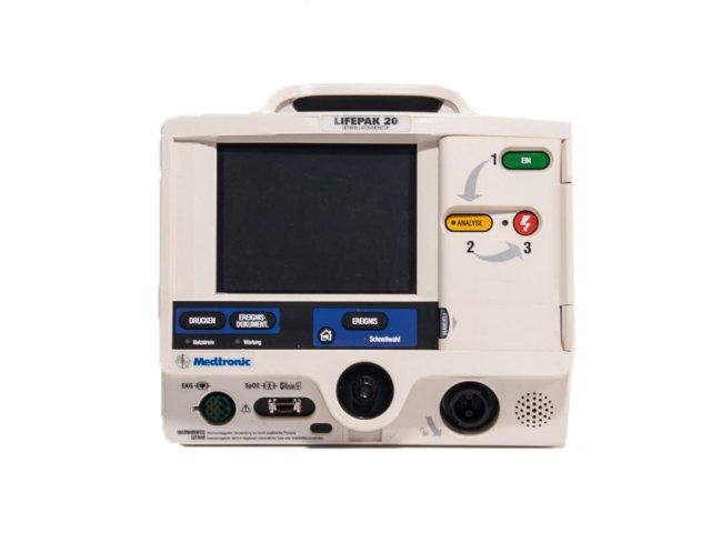 Lifepak 20/20e Defibrillator biphasisch ( Refurbished )