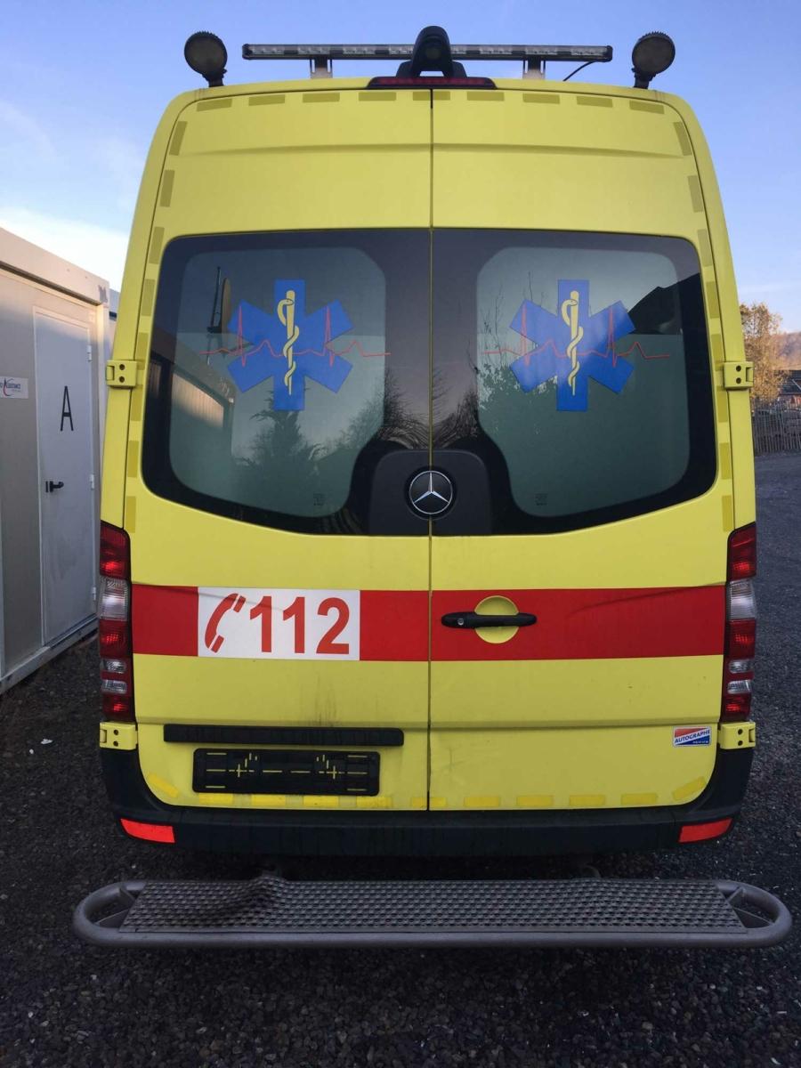 20175 Mercedes-Benz 316 CDI Belgian registration – 2013