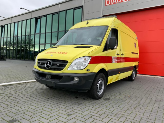 20085 Mercedes-Benz 316 CDI Belgian registration – 2013