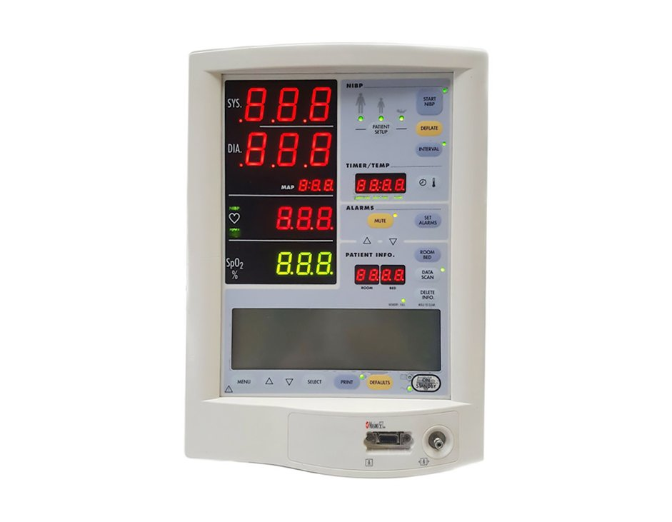 Datascope Accutorr Plus Patient Monitor - Front Screen