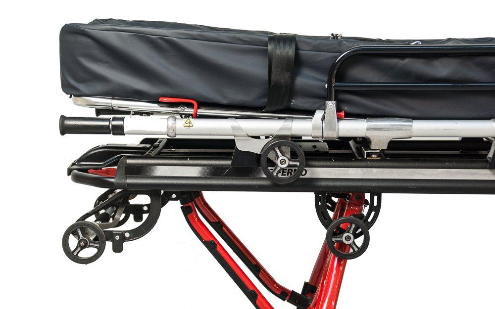 Ferno Mondial Stretcher + Trolley (Close-up)