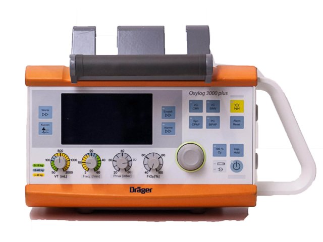 DRAGER OXYLOG 3000 PLUS MET CO2 (Gereviseerd)