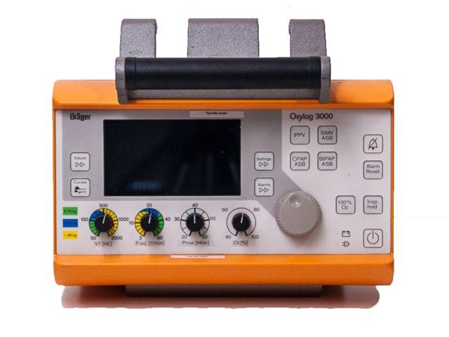 DRAGER Oxylog 3000 Ventilator (Refurbished)