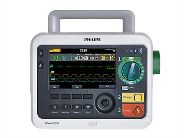 Philips Efficia DFM 100-Defibrillator (Refurbished)