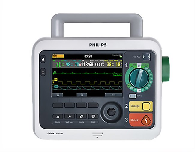 PHILIPS Efficia DFM 100 Defibrillator (1)