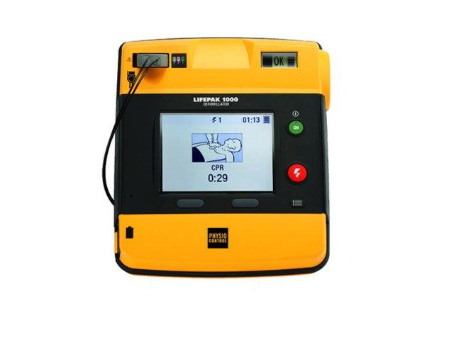 Physio-Control Lifepak 1000 defibrillator met ECG (gereviseerd)