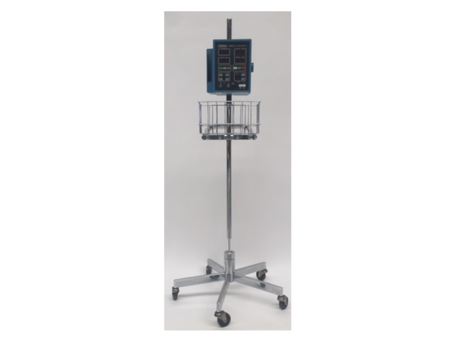 GE Critikon Dinamap 8100T Vital Sign Patient Monitor – With Stand (Refurbished)